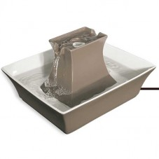 Drinkwell® Pagoda Fountain- Taupe
