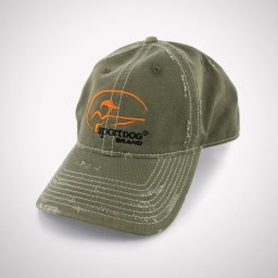 SportDOG Olive Distressed Hat