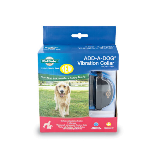 Vibration Remote Trainer Add-A-Dog® Collar