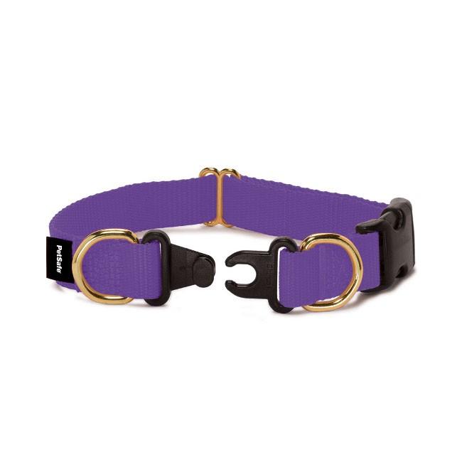 heck of a bunch collar safety awareness week break away collar giveaway. Black Bedroom Furniture Sets. Home Design Ideas