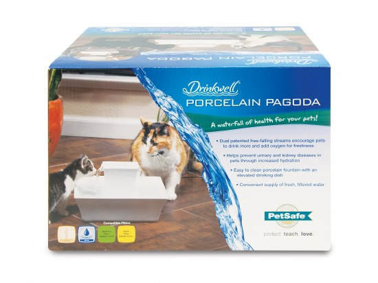 Drinkwell 174 Pagoda Pet Fountain By Petsafe Pww00 13907