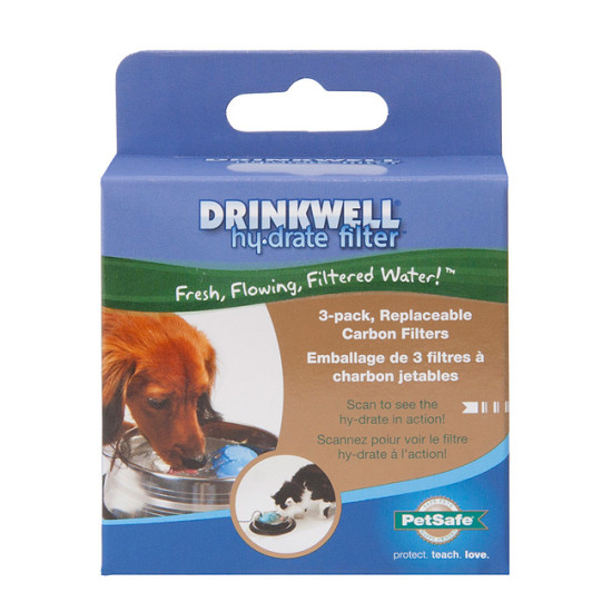 Drinkwell® hy·drate™ Charcoal Filters (3-Pack)
