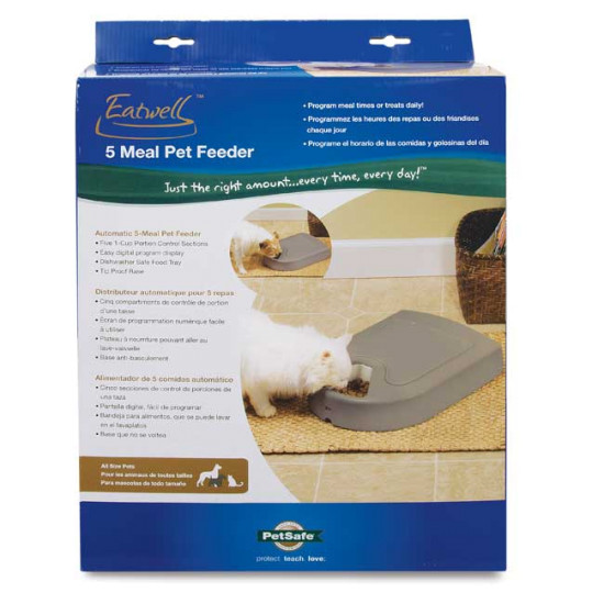 5-Meal Automatic Pet Feeder