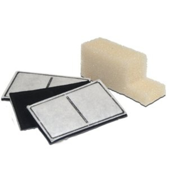 Drinkwell® Outdoor Fountain Charcoal Filters (3-Pack) & Foam Pre-Filter (1-Pack)