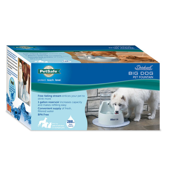 Drinkwell Big Dog Fountain Cleaning