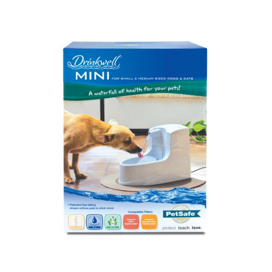 Drinkwell Mini Water Fountain For Dogs Cats
