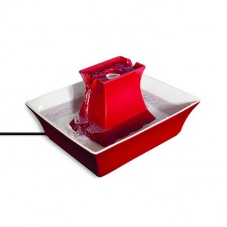Drinkwell® Pagoda Fountain- Red