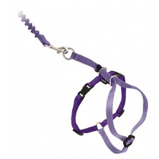 Come With Me Kitty™ Cat Harness & Bungee Leash - Medium, Lilac Purple