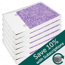 ScoopFree® Lavender Crystal Litter Trays- 6-Pack