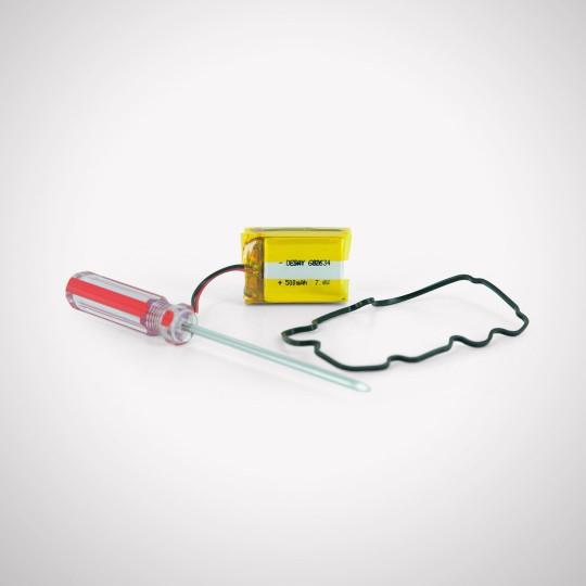 SD-1225 Transmitter Battery Kit