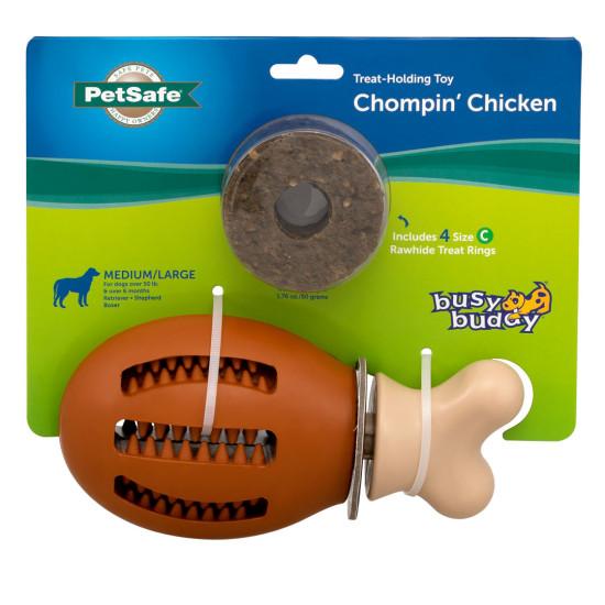 Busy Buddy® Chompin' Chicken