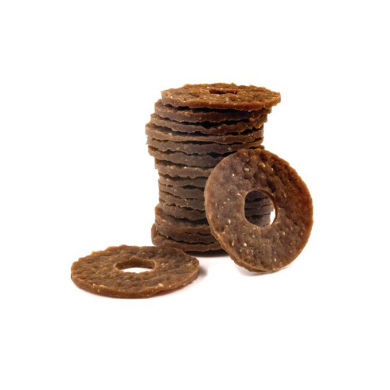 Busy Buddy® Natural Rawhide Rings