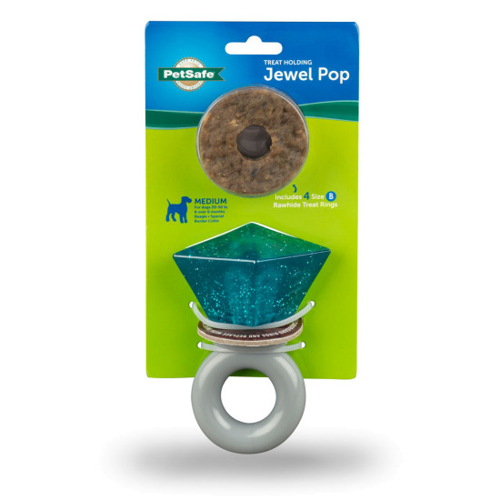 Jewel Pop Treat Holding Dog Toy