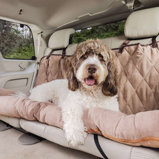 Outstanding Happy Ride Car Dog Bed Bench Seat By Petsafe Grp Hrcdbbs Ibusinesslaw Wood Chair Design Ideas Ibusinesslaworg