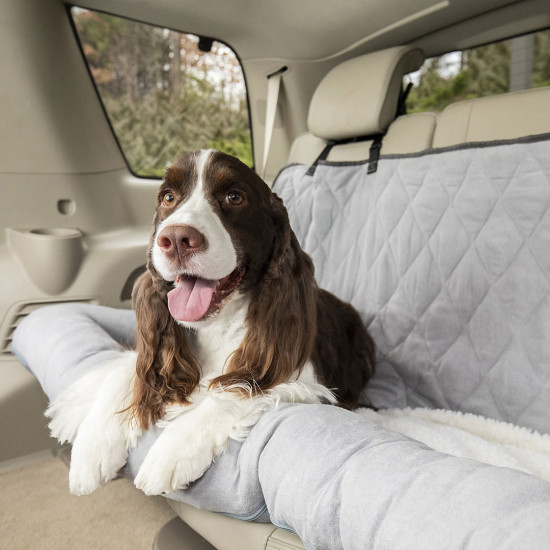 Terrific Happy Ride Car Dog Bed Bench Seat By Petsafe Grp Hrcdbbs Ibusinesslaw Wood Chair Design Ideas Ibusinesslaworg