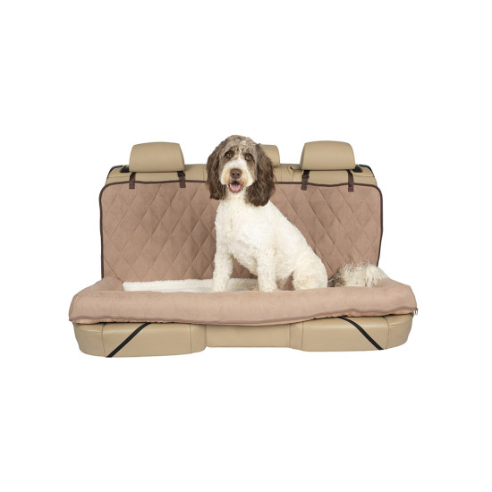 Astounding Happy Ride Car Dog Bed Bench Seat By Petsafe Grp Hrcdbbs Ibusinesslaw Wood Chair Design Ideas Ibusinesslaworg