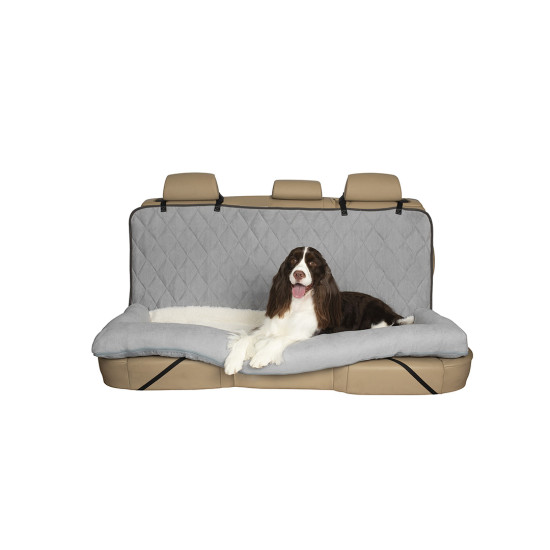 Swell Happy Ride Car Dog Bed Bench Seat By Petsafe Grp Hrcdbbs Ibusinesslaw Wood Chair Design Ideas Ibusinesslaworg