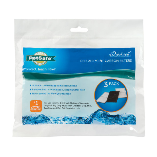 Drinkwell® Charcoal Replacement Filters- 3-Pack