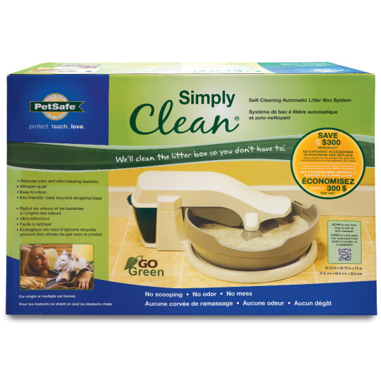 Simply Clean® Self-Cleaning Automatic Litter Box By