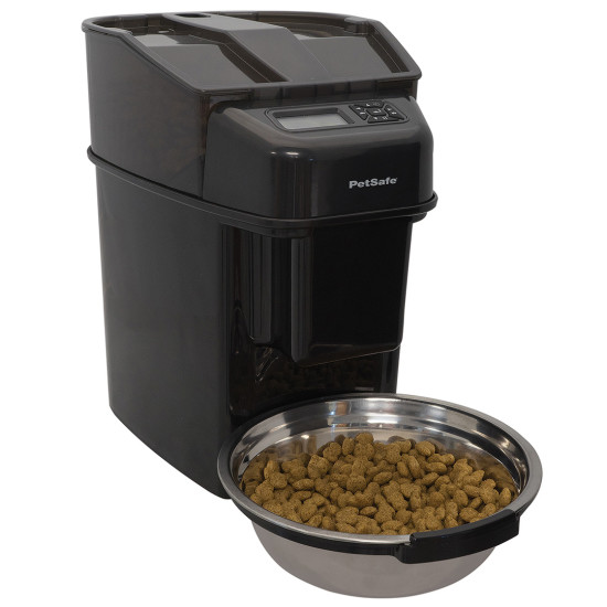 feeder digital landing pet feeders remote controlled automatic
