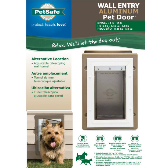 Charmant Wall Entry Aluminum Pet Door™ By PetSafe   GRP WALL