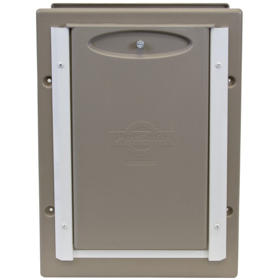 Aluminum Doors Wall : Wall entry aluminum pet door™ by petsafe grp