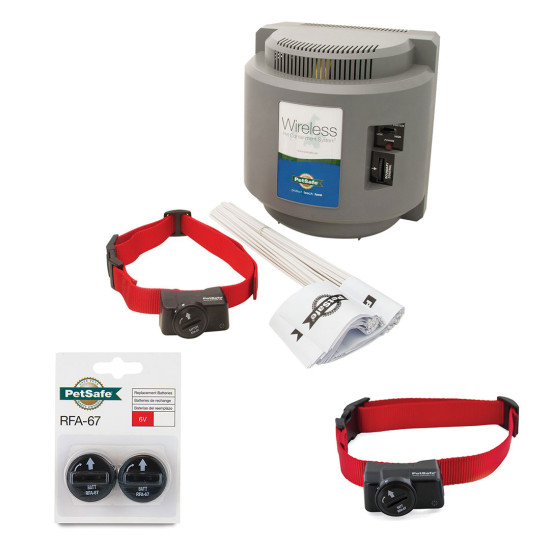wireless pet containment system 2dog bundle
