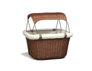 Happy Ride™ Wicker Bicycle Basket