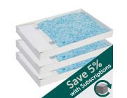 ScoopFree® Premium Blue Crystal Litter Trays, 3-Pack